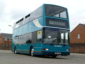 Alexander Dennis - Arriva North West Plaxton President bodied Dennis Trident 2 in July 2010