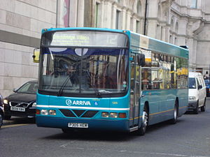 Wright Axcess-Ultralow - A Scania L113CRL / Wright Axcess-Ultralow operated by Arriva North West in Liverpool