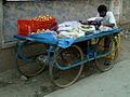 A Street Vegetable vendor at Nizampet.jpg