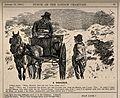 A country doctor out in his horse and trap, enquiring how a Wellcome V0011420.jpg