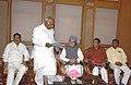 A delegation from Karnataka Pradesh Congress Committee led by the President, KPCC, Shri Mallikarjun Kharge calling on the Prime Minister, Dr. Manmohan Singh, in New Delhi on July 06, 2008.jpg