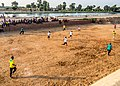 A group of young people playing ball, Ismailia, Egypt.jpg