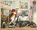 A haggard old woman carelessly mixing a recipe for corns on Wellcome V0011141.jpg