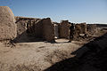 A member of the Afghan National Civil Order Police stands guard outside a compound in the Maiwand district, Kandahar province, Afghanistan, Feb 120225-A-QD683-041.jpg