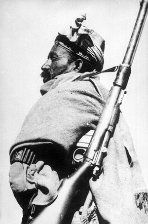 Frontier Corps - A member of the Khyber Rifles circa 1948.