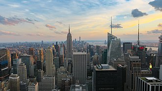New York metropolitan area - New York City, described as the cultural, financial, and media capital of the world.