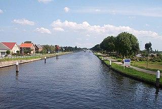 Papenveer buurtschap in Zuid-Holland, Netherlands