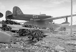 Abandoned Bv 138C at Tromso 1945.jpg