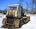Abandoned bulldozer in Latvia.jpg