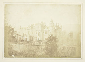 Abbotsford House - Abbotsford by Henry Fox Talbot, 1844