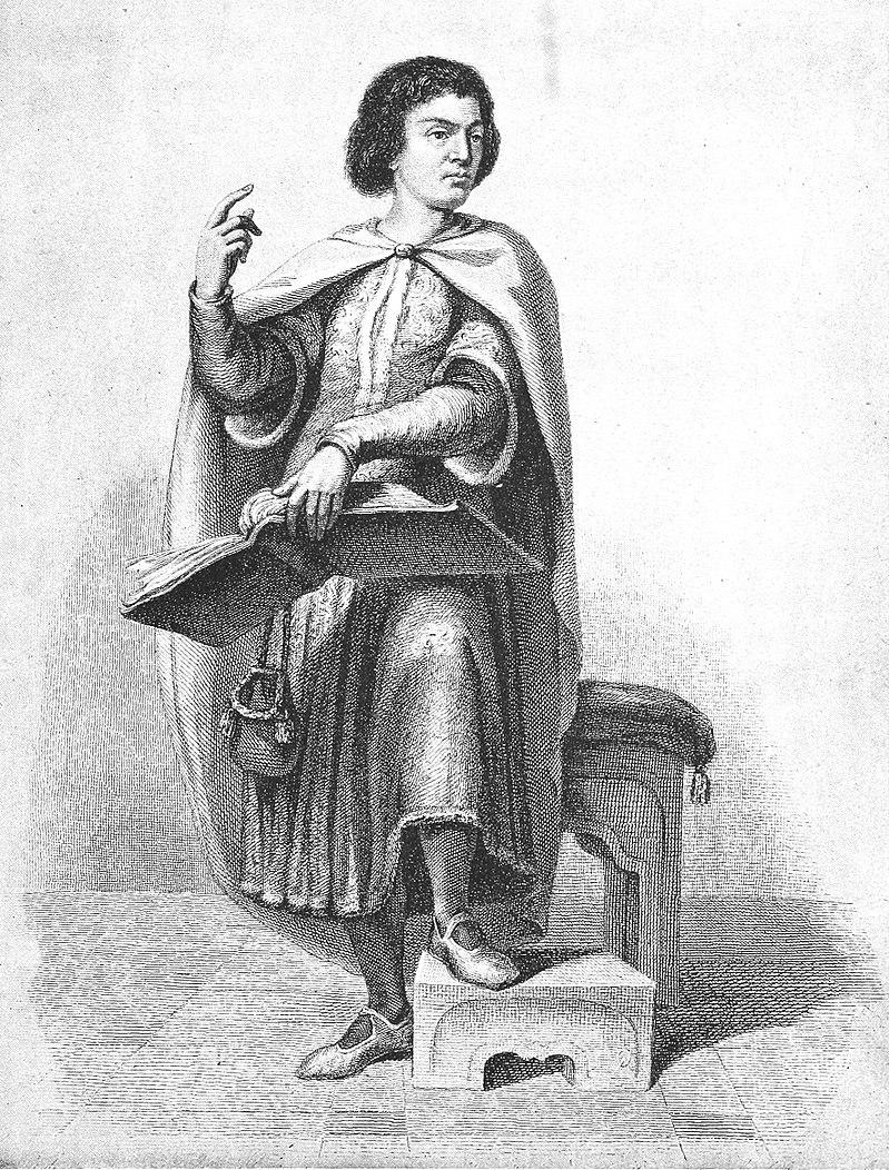 Неизвестный автор. Пьер Абеляр (наверное). Изображение из Википедии
