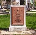 Abraham Lincoln replica marker.JPG