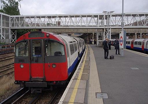 Acton Town tube station MMB 06 1973 Stock