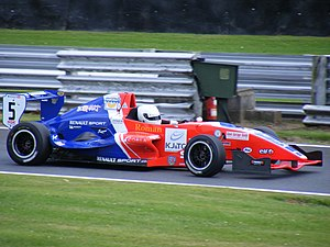 CRS Racing - Adam Christodoulou driving for CR Scuderia during the 2008 Formula Renault UK season