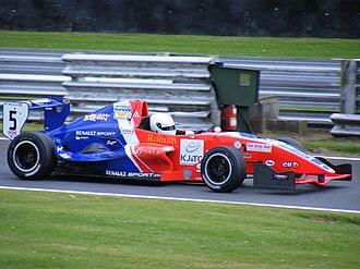 British Formula Renault Championship - 2008 Formula Renault 2.0 UK Champion Adam Christodoulou.