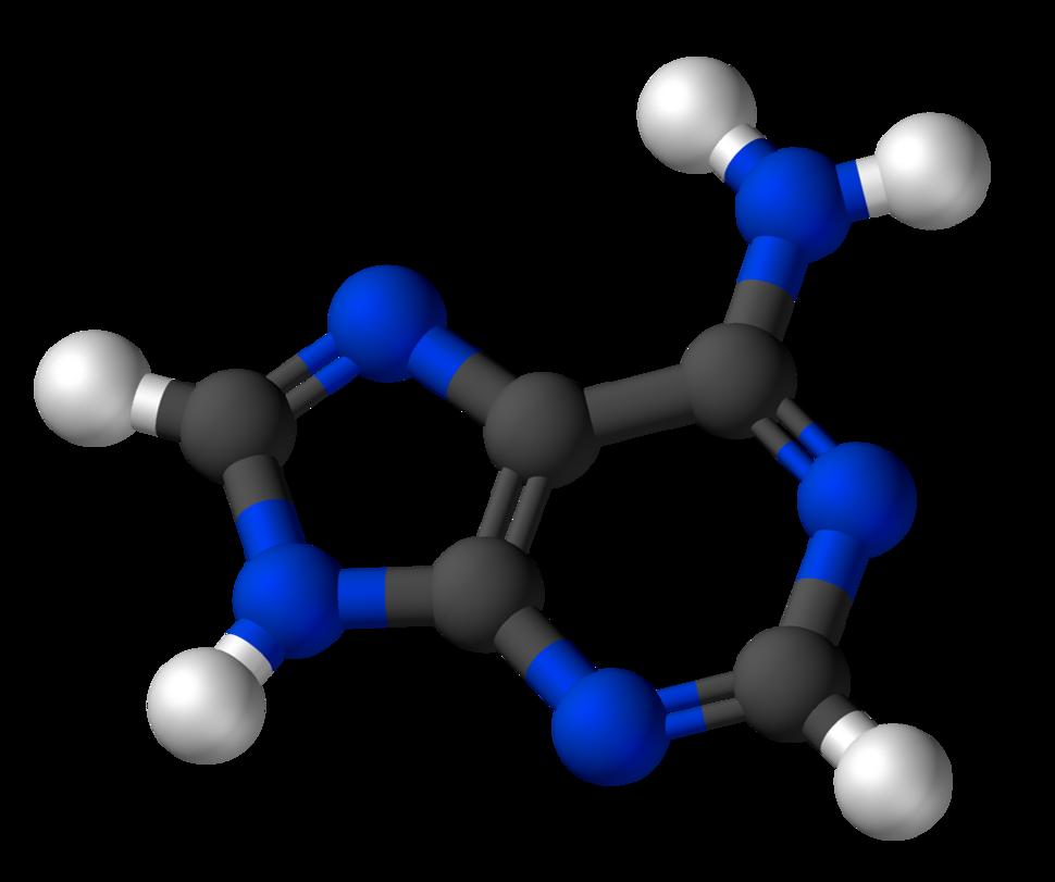 Adenine-3D-balls
