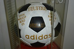 Adidas Telstar Mexico 1970 Official ball.jpg