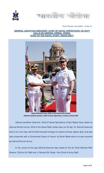 File:Admiral Jonathan Greenert, US Navy Chief of Naval Operations calls on Admiral Nirmal Verma, Chief of the Naval Staff.pdf