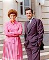 Adolfo Suárez y su esposa, Amparo de Illana en el Palacio de la Moncloa. Pool Moncloa. 19 de septiembre de 1979.jpeg
