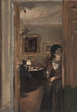 Adolph von Menzel - Living-Room with the Artist's Sister - WGA15049.jpg