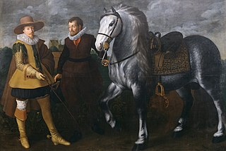 Prince Maurits with His Horse and Groom