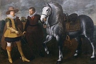 Adriaen van Nieulandt - Painting by van Nieulandt depicts Maurits, prince of Orange. The Walters Art Museum.