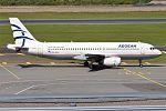 Aegean Airlines, SX-DVS, Airbus A320-232 (28371426993).jpg