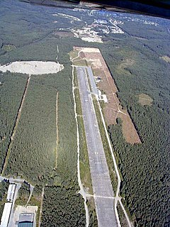 Hønefoss Airport, Eggemoen