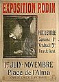 Affiche de l'exposition Rodin en 1900 (9028298356).jpg