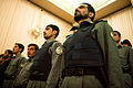 Afghan Nation Police attend a ceremony held for the family members of two fallen sergeants (4304180260).jpg