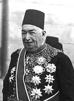 Ahmed Zeiwar Pasha - Ahmed Ziwar Pasha. c.1920