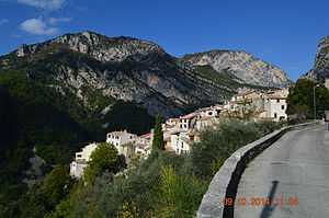 Aiglun, Alpes-Maritimes - A general view of the village