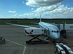 Air Canada 787 at BNE (32826932164).jpg