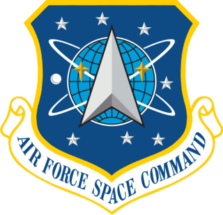 Air Force Space Command Former major command of the United States Air Force responsible for space forces