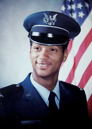English: LeRoy Homer Jr. as an Air Force Acade...