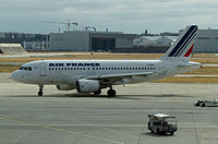 F-GRHT - A319 - Air France