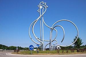A39 autoroute - Service Area: Le Poulet de Bresse
