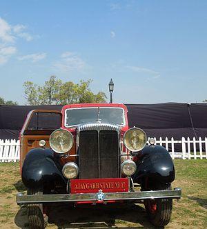 Ajaigarh State - Ajaygarh state car no.17