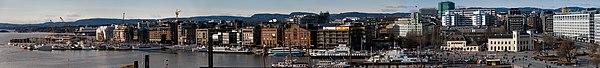 Aker brygge panorama