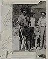Akseli Gallen-Kallela visiting a silver mine prospectus in Sierra de la Encantada, Mexico, 1924; print 2 of the photograph. (14541930588).jpg
