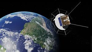 AlSAT-1 - AlSat in orbit.