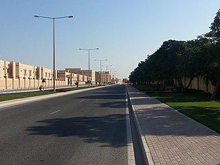 Mesaieed City in Al Wakrah Municipality, Qatar