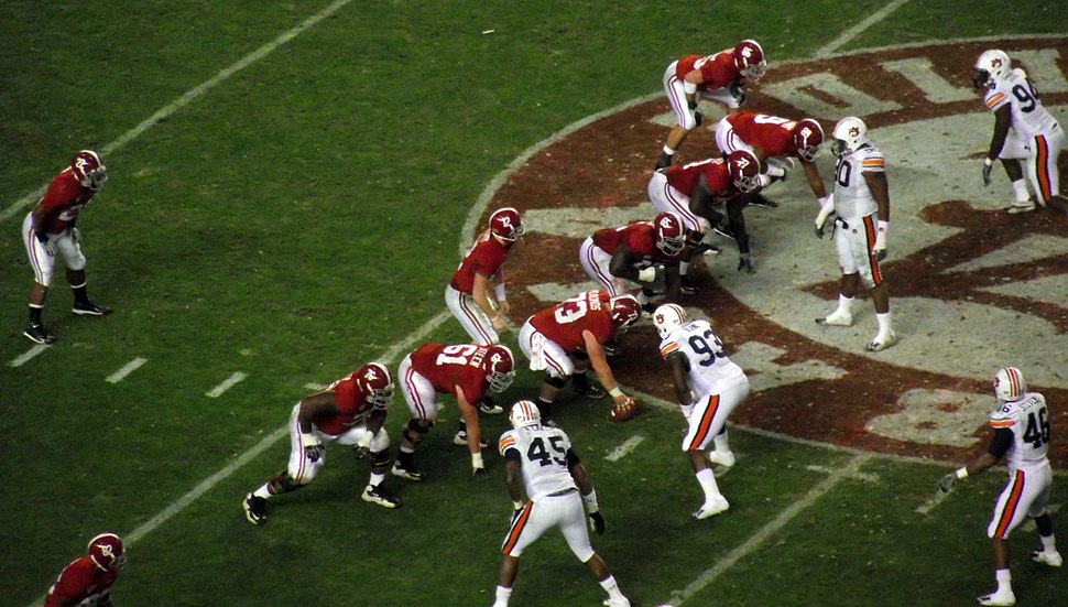 Alabama offense IronBowl 2010-11-26