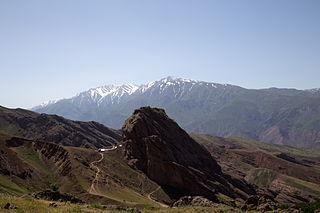 Alamut Castle Mountain fortress in Iran