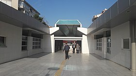 Alaybey station entrance.jpg