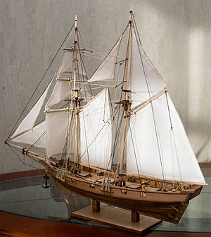 Albatros (1899) - 1:55 scale model
