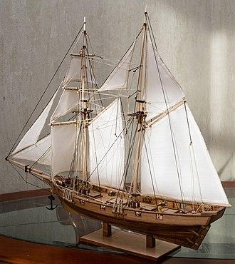 Albatros (1899) - 1:55 scale model