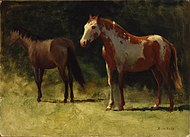 Albert Bierstadt - Two Horses.jpg
