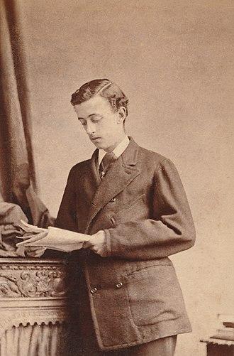 Albert Grey, 4th Earl Grey - At Harrow