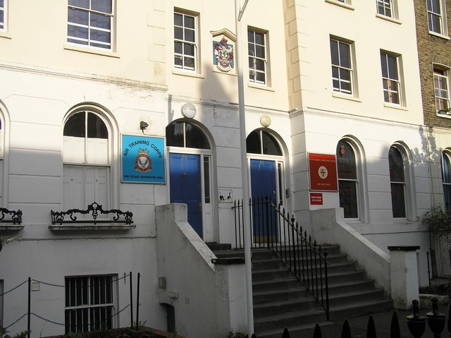 Albion Road, London N16 - Air Training Corps, Army Cadet Force - geograph.org.uk - 1061053.jpg
